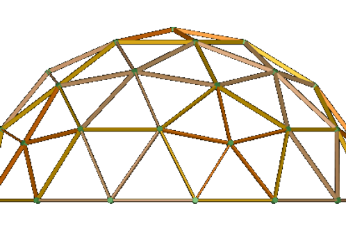 Geodesic Dome 11m Galvanised