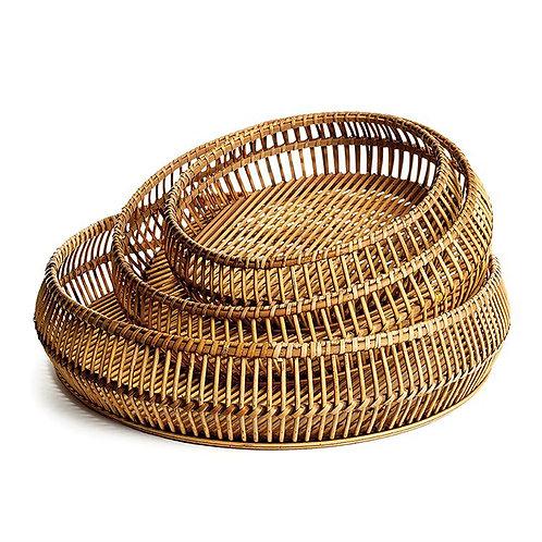 Woven Bamboo Tray