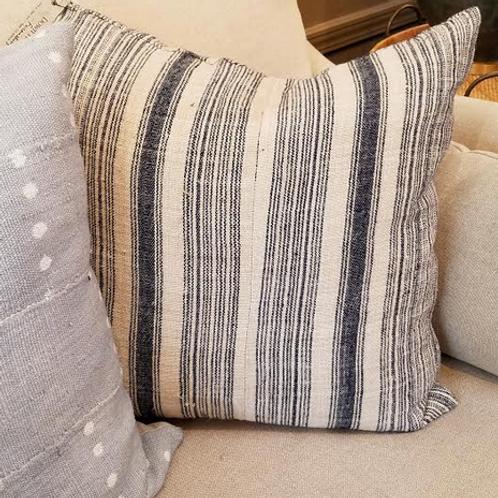Woven Indigo Pillow