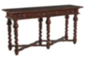 furniture, classics, reverse twist console, 28843QC, wood, console, two, drawers, traditional