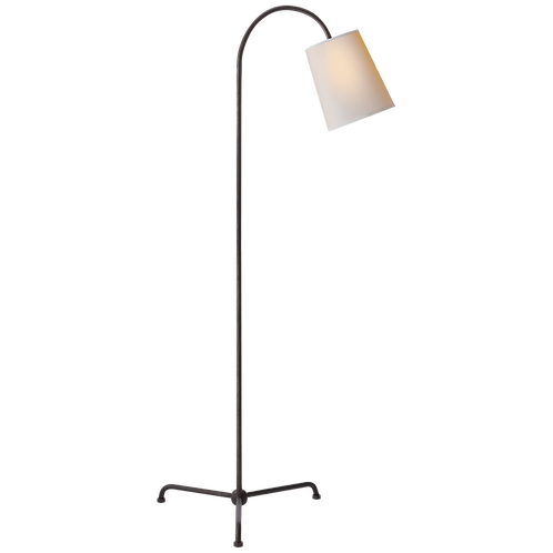 Arched Iron Floor Lamp