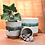 Thumbnail: Green Stripe Ceramic Pot
