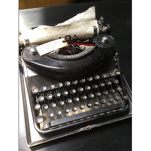 Antique Refurbished Typewriter