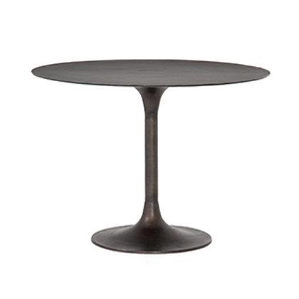 Cast Rust Aluminum Bistro Table