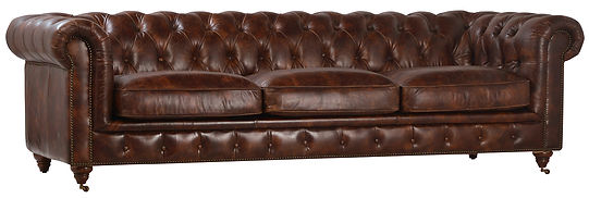 dov1714, dov1715, chesterfield, sofa, classic, leather, vintage, nailheads, tacks, tufts, casters, cigar, interior, design, Ojai, California, couch, long