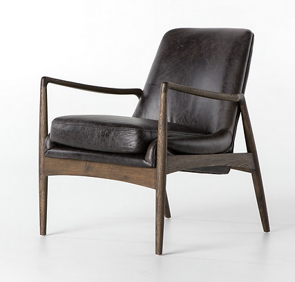 Cash-83J-68, leather, braden, wood, modern, mid century, rustic, distressed, ranch, smooth, refined, beautiful, sleek, occasional, club, design, designer, Ojai, interior, California, awesome, Southern, home, house