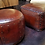 Thumbnail: Hand Tooled Leather Ottoman