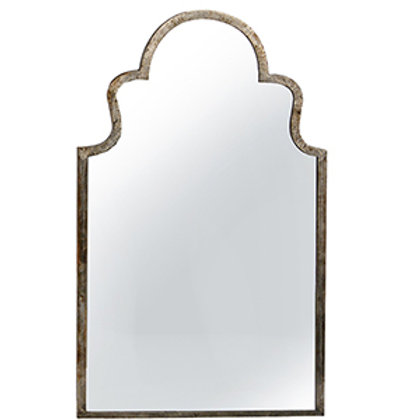 Moroccan Inspired Industrial Mirror