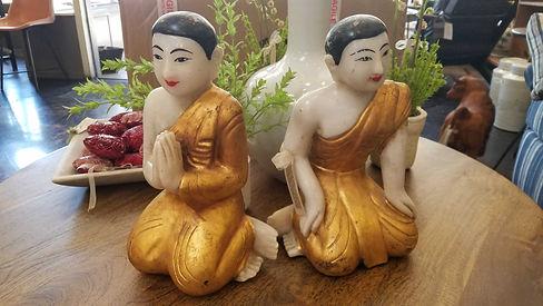 alabaster, hand, carved, painted, monks, burma, burmese, anjali, mudra, gold, antique, vintage, 20190423_121354.jpg