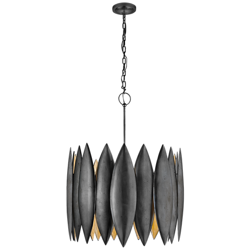 Chandelier in Aged Iron