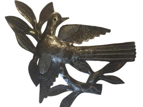 Metal Dove, Handmade in Haiti