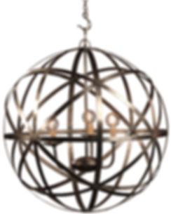af011, af011L, patti, gobe, chandelier, large, medium