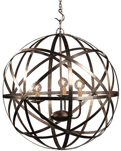 af011, af011L, patti, gobe, chandelier, large, medium