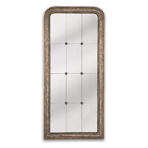 down, home, furnishings, ojai, ca, california, ventura, county, twelve, panel, wood, rectangle, mirror, RAFlorence.jpg