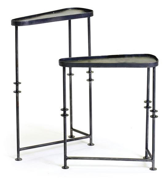Industrial Nesting Beverage Tables