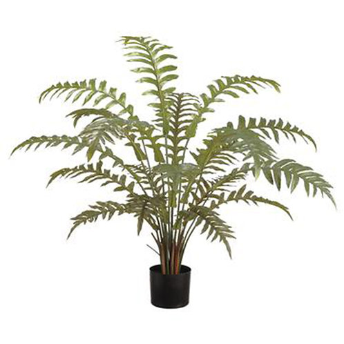"""Potted Fern, 36"""""""