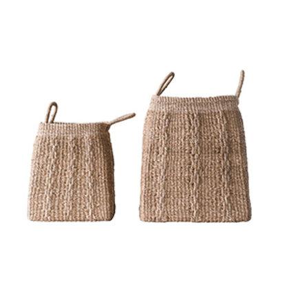 Hand Woven Abaca Basket