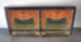 down, home, furnishings, sideboard, rare, antique, Tibetan, cabinet, hand, painted, tiger, motif, Ojai, California, Ventura, County, PD_SP44-19 4 DOOR PAINTED CABINET.png