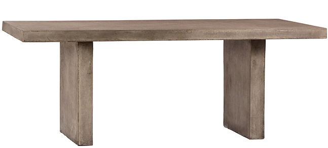 dOV9300, concrete, slab, table, outdoor, indoor, interior, design, lawn, patio, deck, furniture, modern, industrial, designer, Ojai, Califonia
