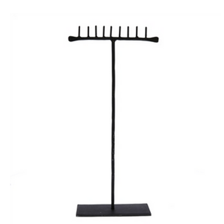 Forged Iron Jewelry Stand