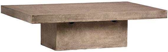DOV9306, outdoor, coffee, table, rectangle, large, modern, industrial,  patio, lawn, deck, Ojai, California, designer, design, concrete