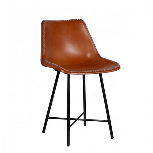 Hand Rubbed Leather Chair (also available in Black)