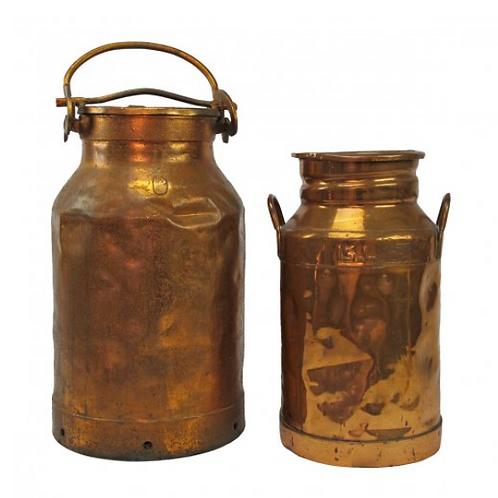 Vintage Copper Milk Jug