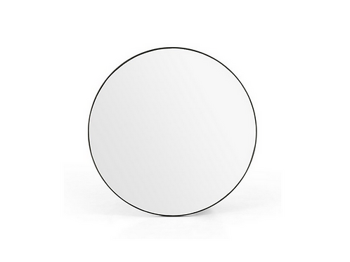 Round Stainless Steel Mirror, Small or Large