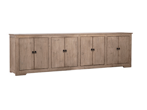 Reclaimed Pine Sideboard in a Whitewash Finish