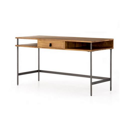 Poplar and Iron Writing Desk