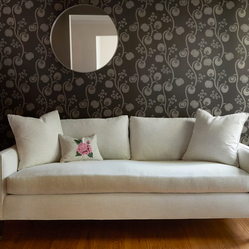 Custom Sofa in a Traditional Silhouette