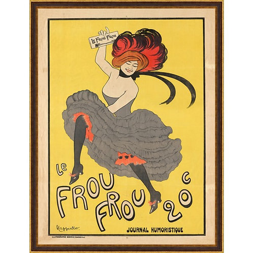 Leonetto Capiello's Le Frou Frou
