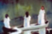 Kate, Hoffman, art, artist, artwork, original, oil, canvas, local, Ojai, California, gray, grey, vertical, charcoal, animal, people, nude, black, large, neutral, design, women, feminin, flowing, flowy, boat, three