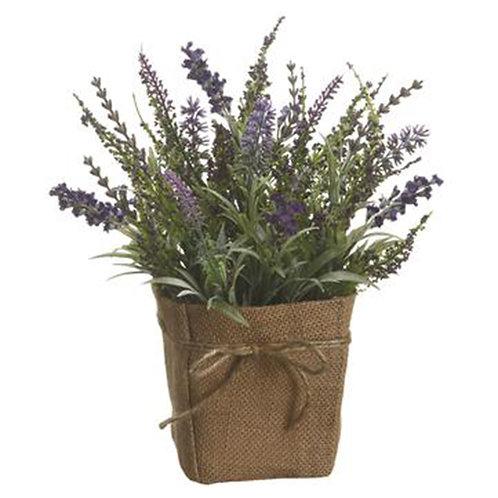 Lavender in Burlap