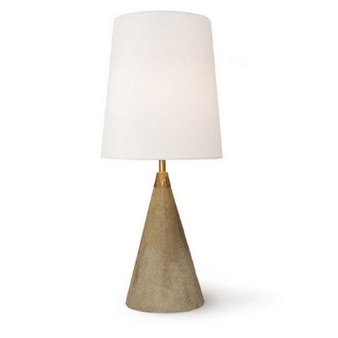 Concrete Cone Table Lamp