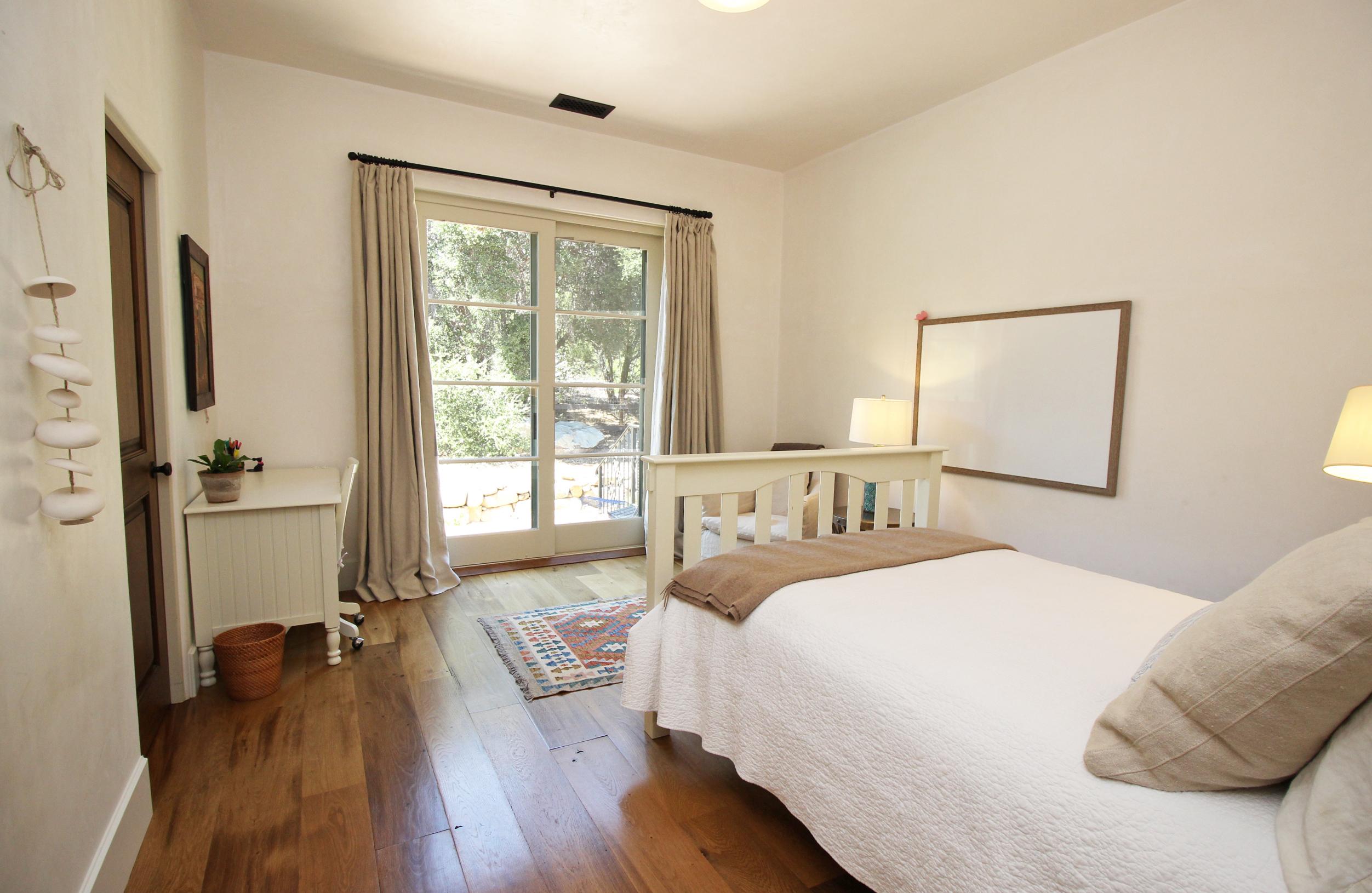 Bedroom drapery