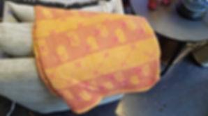 vintage, hand, sewn, kantha, quilt, throw, cotton, orange, hot, pink, stitch, stitched, hand, made, 20190423_131331.jpg
