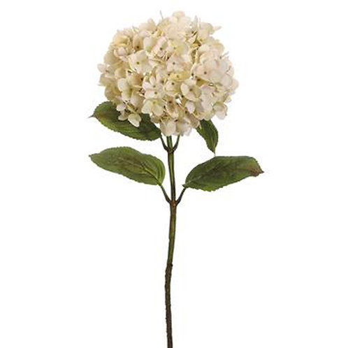 White Hydrangea Flower Spray, $26