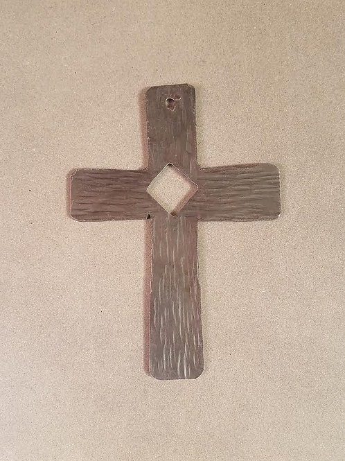 Hand Forged Iron Cross