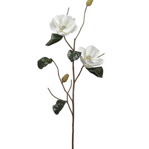"""50"""" Cream Magnolia Spray"""