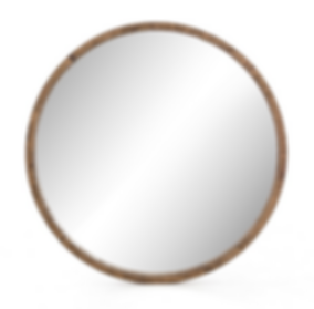 down, home, furnishings, ojai, ca, california, ventura, county, reclaimed, pine, wood, round, mirror, FHHarlan.png