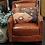 Thumbnail: Cowhide Leather Club Chair