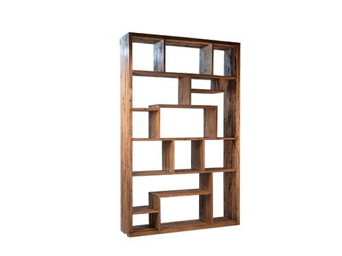 Reclaimed Mango Wood Book Case