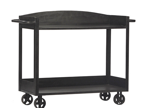 Iron Trolley Console Table