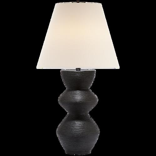 Textured Iron Table Lamp