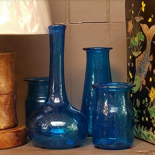 Light Azure Vase, 4.5""