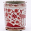 Thumbnail: Hand-Painted Porcelain Jar in Red and White