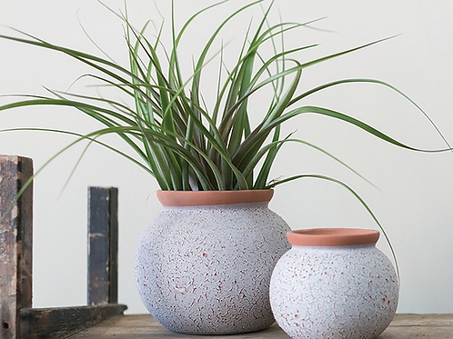 Two Tone Ceramic Pot