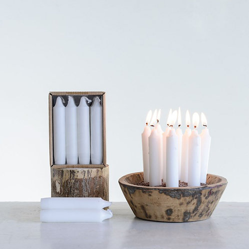 Unscented Tapered Candles
