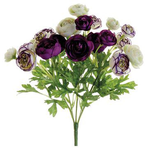 Mini Ranunculus Flower Bush